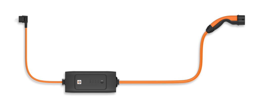 Rendering of the Mode 2 charging cable by Lapp