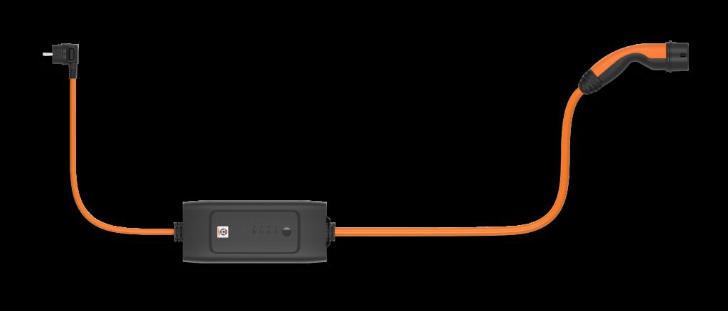 Rendering des Mode 2 Ladekabels von Lapp