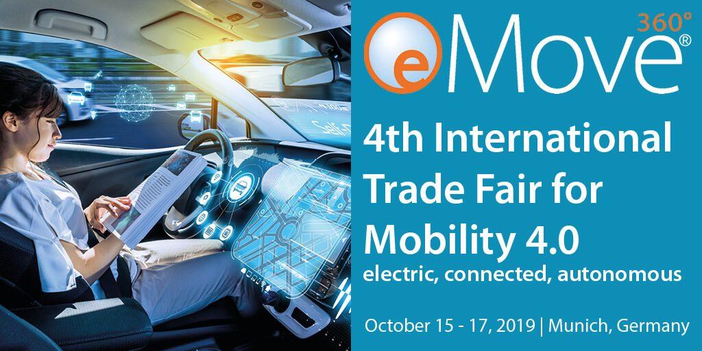Info zur eMove360 Messe in München