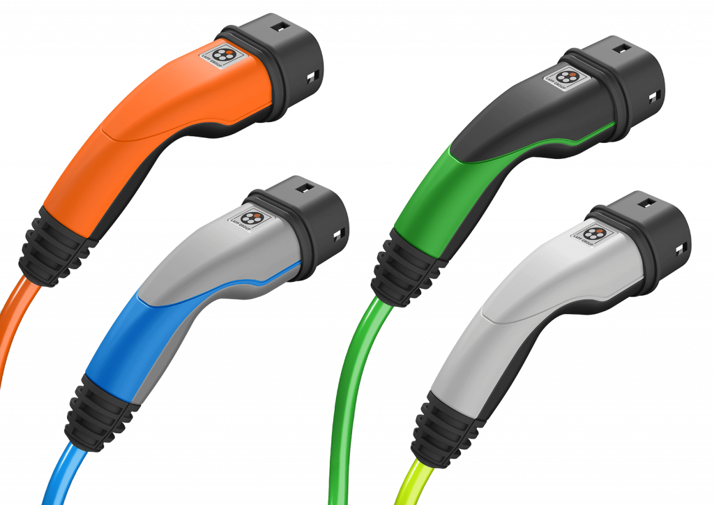 LAPP charging cables colour variants