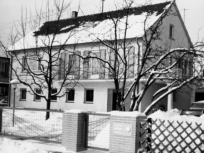 Wohnhaus der Familie Lapp